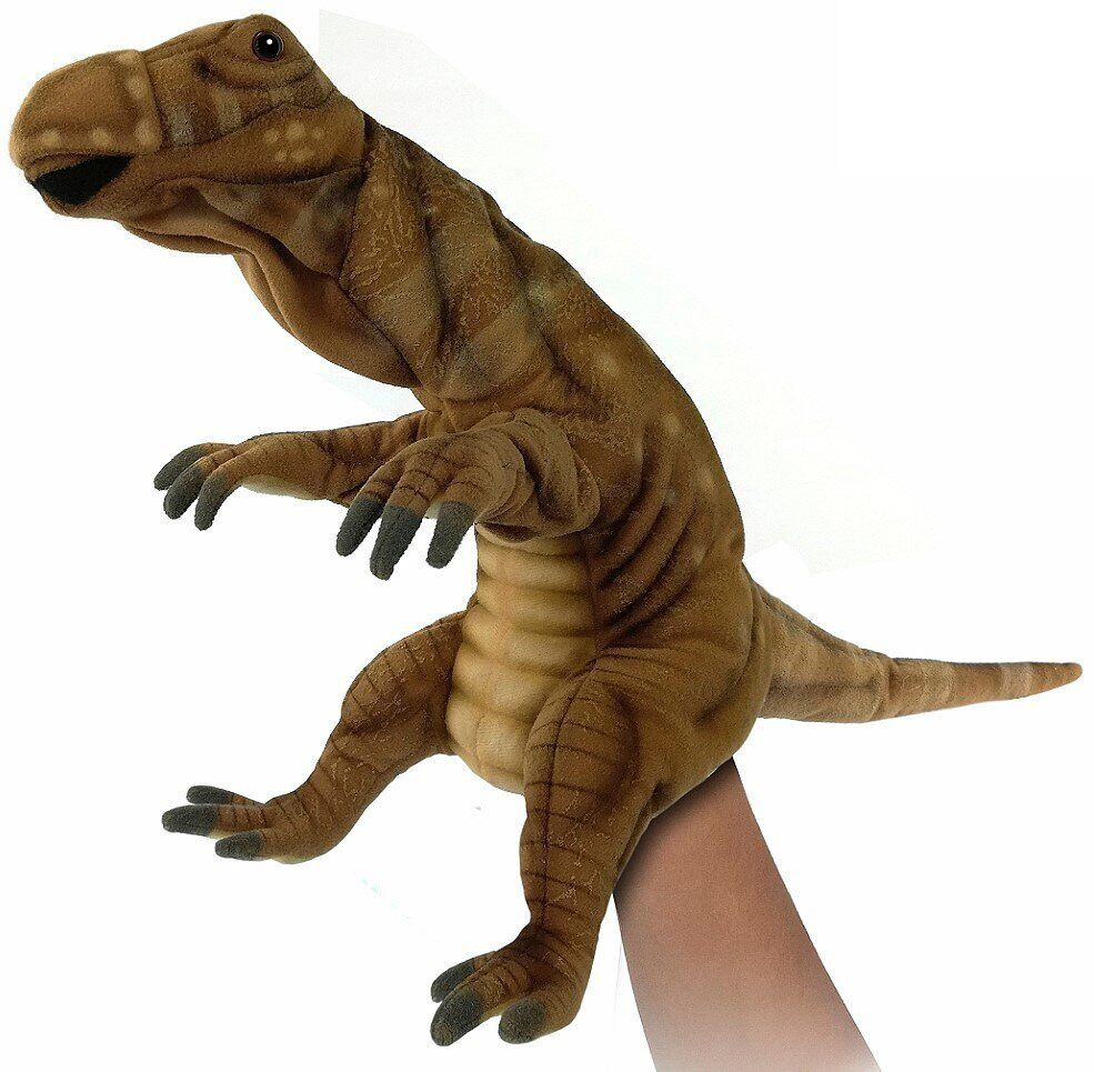 Hansa - Реалистичная мягкая игрушка на руку Муттабурразавр, 40 см