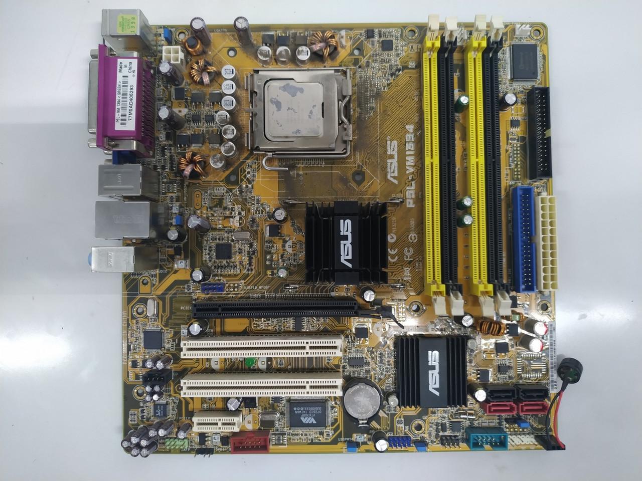 Материнская плата Asus P5L-VM394 (LGA 775, Intel 945P / ICH7, DDR2 4X)