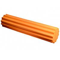 Ролик для йоги і пілатес PowerPlay 4020, 60х15 см Оранжевий (143737)