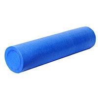 Ролик для йоги і пілатес PowerPlay 4021, 90х15см Синій (143914)