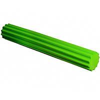 Ролик для йоги і пілатес PowerPlay 4020, 90х15см Зелений (143739)