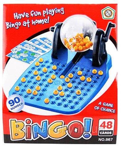 Игра  настольная Лото Бинго 867