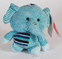"""Мягкая вязаная игрушка """"Слон"""" 20 см"""