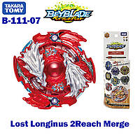 Бейблейд Луинор b-111 07 Lost Longinus 2Reach Merge Takara Tomy