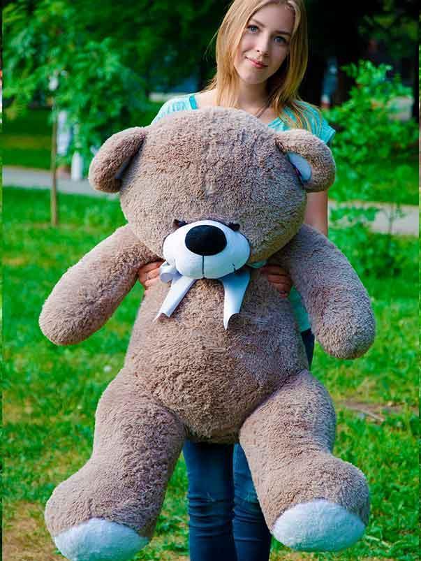 Мишка Бойт 125см. Большая игрушка Плюшевая Панда  Мягкие мишки игрушки Панда