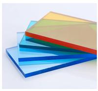 Монолитный поликарбонат 8 мм цветной BORREX (Боррекс) стандарт