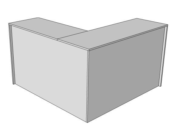 Прилавок кассовый, Угловой стол, Кассовое место Г-образное
