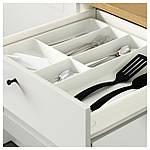 IKEA KNOXHULT Напольный шкаф с дверцами, серый, 120 см (503.267.94), фото 3