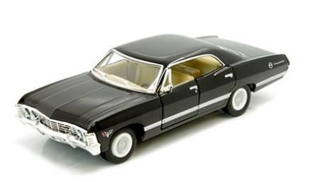 """Модель легкова Kinsmart """"Chevrolet Impala 1967"""", металева, 4 види, KT5418W, фото 2"""