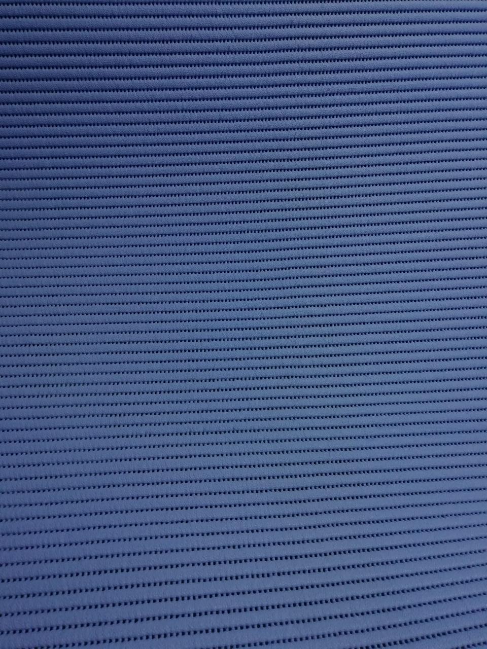 Коврик Декомарин в ванную Турция синий  80см  6332