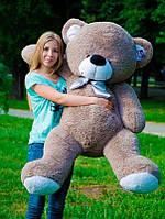 Мишка Бойт 160см.Большая Панда игрушка Плюшевая Панда  Мягкие мишки игрушки Панда (Серый), фото 1
