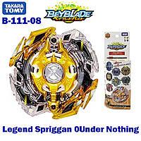 Бейблейд Легендарный Спрайзен b-111 08 Legend Spriggan 0 Under Nothing Takara Tomy