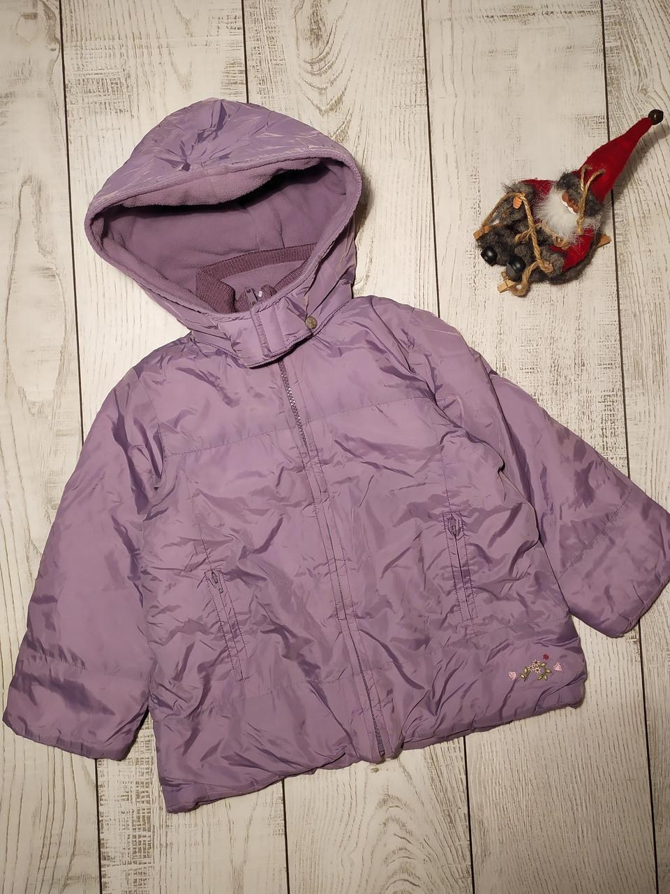 Куртка для девочки демисезонная 3-4 года