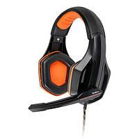 Навушники накладні провідні з мікрофоном Gemix W-330 Pro, фото 1