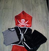 Карнавальный костюм Пират, велюровый новогодний костюм Пират 0002