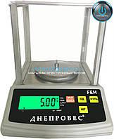 Лабораторные весы FEN-1000g - Днепровес