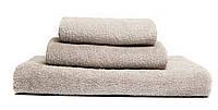 Комплект махровых полотенец 40х70 50х90 70х140 Серый Узбекистан