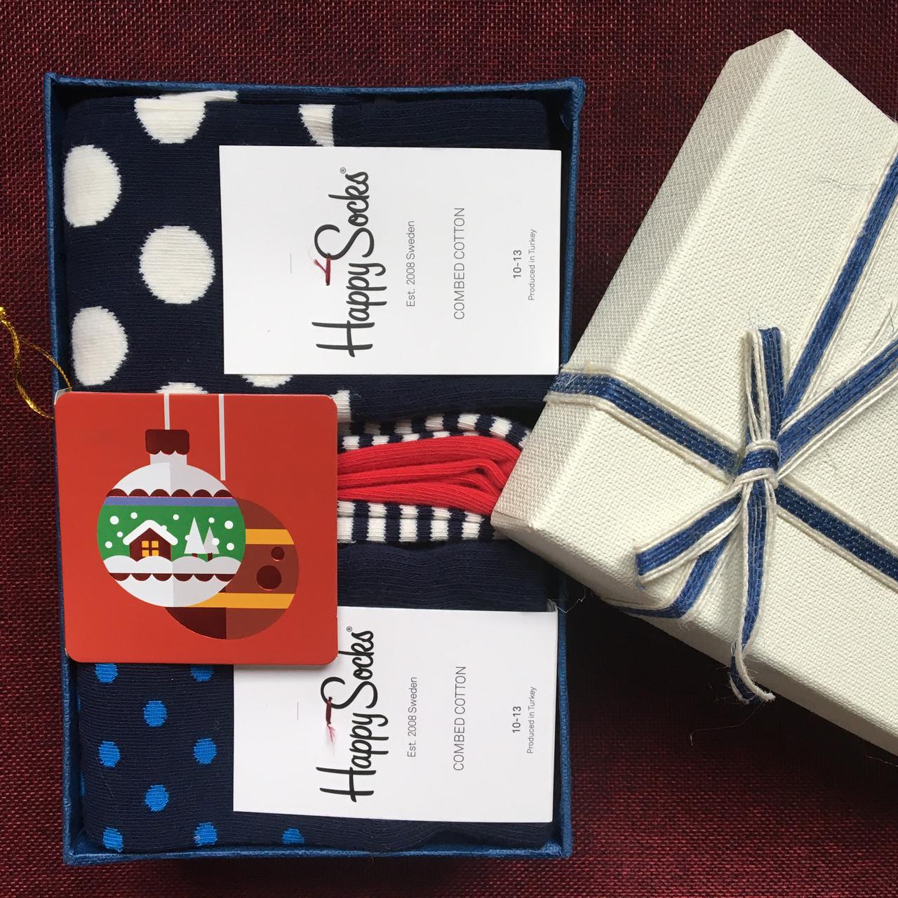 """Подарочный набор с носками """"HAPPY SOCKS"""" ( 7 штук )"""