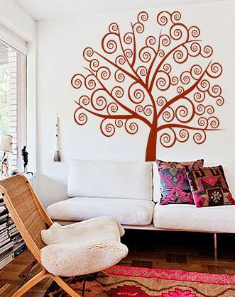 """Вінілова наклейка на шпалери """"Дерево життя"""""""