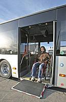 Пассажирские подъемники Palfinger для людей с ограниченными возможностями MBB Medirampe MR 950