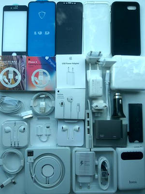 Кабели и зарядные устройства для Apple iPhone, iPad, MacBook, iPod.