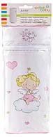 Термоконтейнер Ceba Baby Jumbo 70*80*230мм универсальный  белый-розовый (ангелочек)