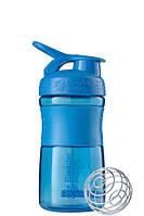 Спортивная бутылка-шейкер BlenderBottle SportMixer 590ml Cyan, Original R144877