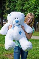 Плюшевый Мишка Тедди 100 см  Медведь игрушка Плюшевый медведь Мягкие мишки игрушки Ведмедик (Белый), фото 1