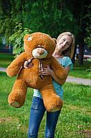 Плюшевый Мишка Тедди 100 см  Медведь игрушка Плюшевый медведь Мягкие мишки игрушки Ведмедик (Коричневый), фото 1