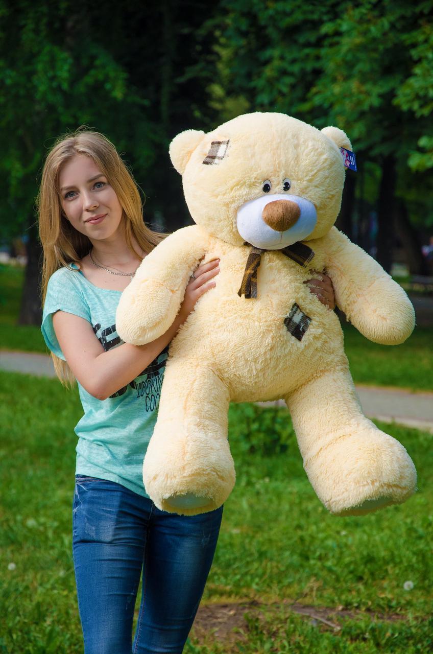 Плюшевый Мишка Тедди 100 см  Медведь игрушка Плюшевый медведь Мягкие мишки игрушки Ведмедик
