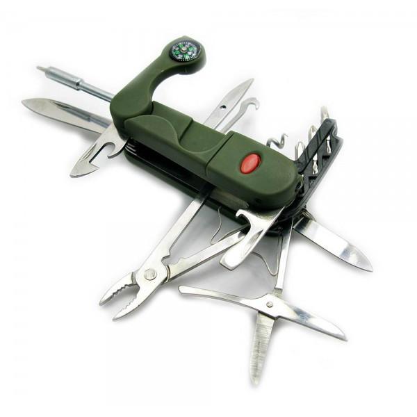 Нож складной(9.5) с набором инструментов, 18 в 1