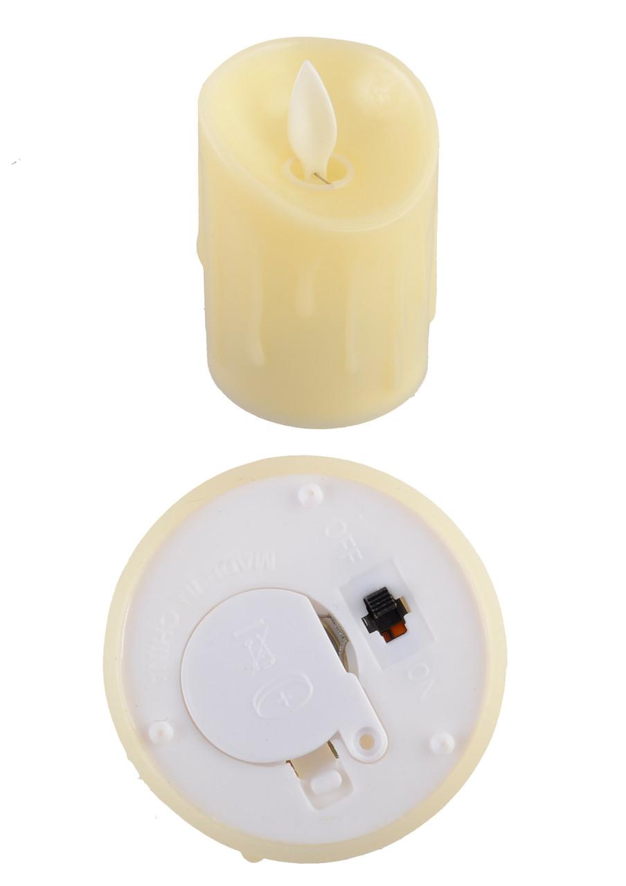 """Сувенир """"Свеча"""", пластиковый, светящийся, LED, WH-5307"""