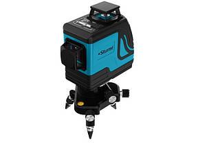 Уровень лазерный Sturm 1040-12-GR 3D Profi Li-Ion, 12 лучей, цвет - зелёный, до 20 м