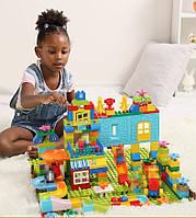 Развивающий конструктор Парк развлечений Tumama 211 детали Совместим с LEGO DUPLO, фото 1