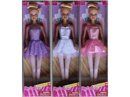 Кукла DEFA 29см 8252 балерина 3в.кор.9*4,5*32 ш.к./96/