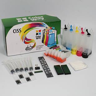 СНПЧ для Epson XP600/700 (5х100мл) ColorWay