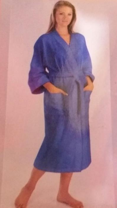 Халат махровый женский, размеры S. M. L,XL, 2ХЛ, арт. 382,384