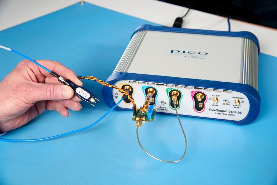 PicoScope 9404-05 Осциллографы реального времени с частотой дискретизации 5 и 16 ГГц
