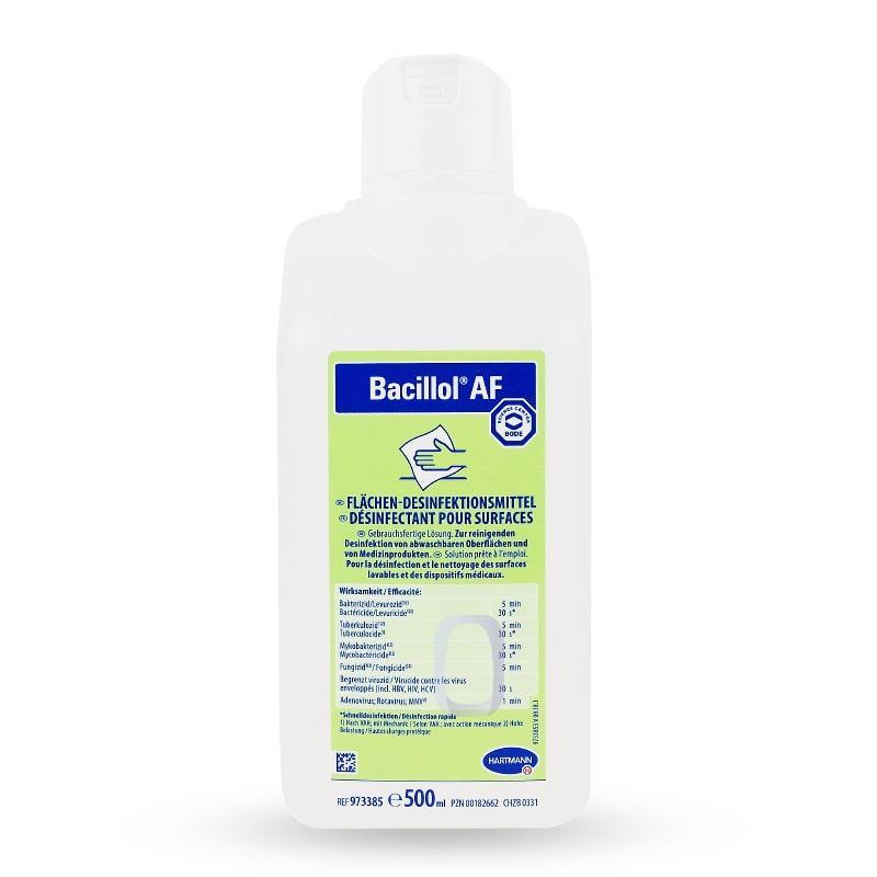 Средство для дезинфекции поверхностей и инструментов BODE Chemie GmbH Бациллол АФ 500 мл