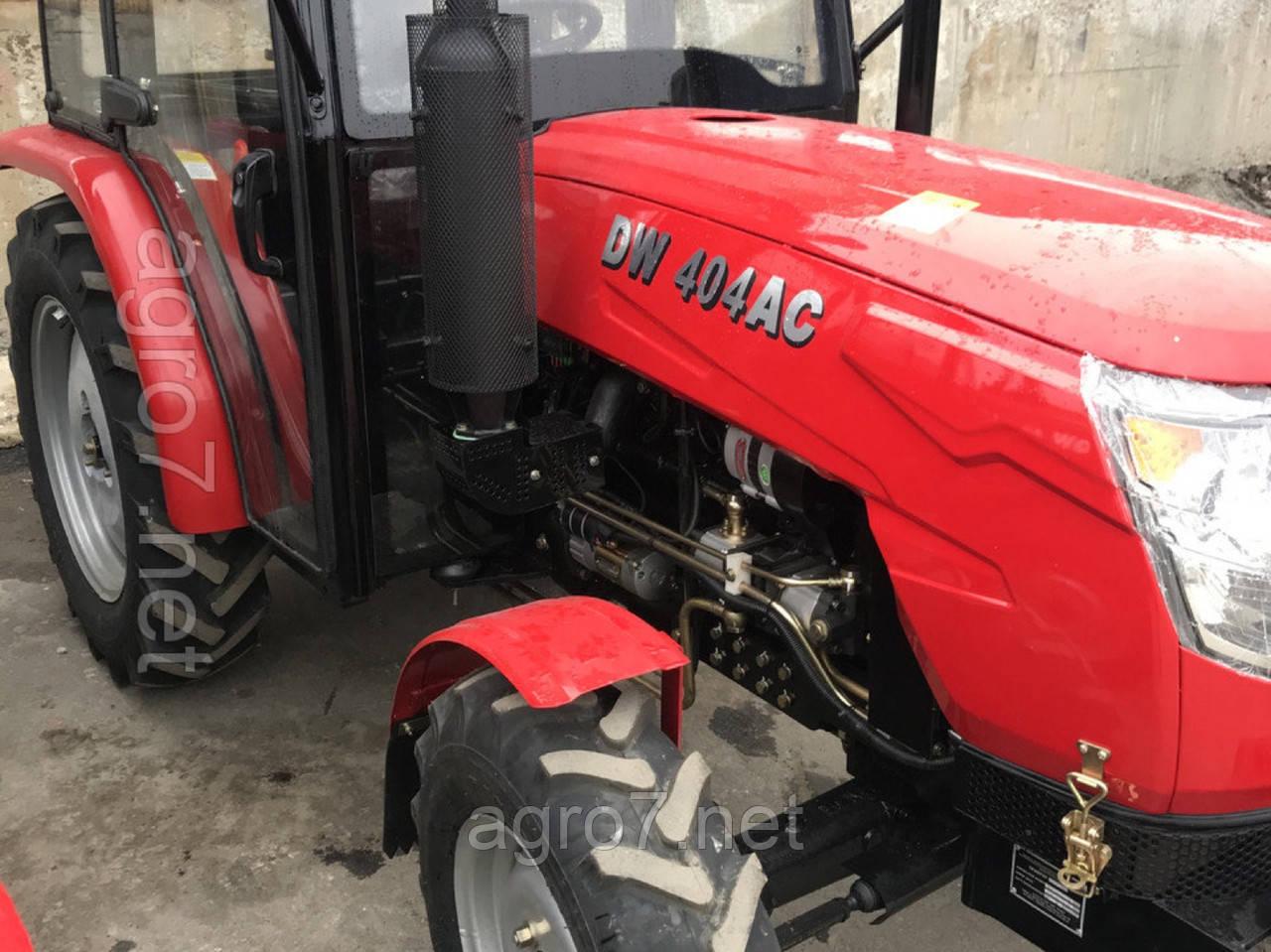 Трактор DW 404АC (4х4, кабина, 4х4)