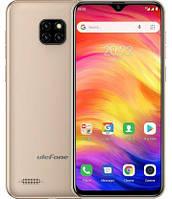 Смартфон Ulefone Note 7 1/16Gb Gold, 3500mAh, 8+2+2/5Мп, 2sim, экран 6.1'' IPS, 4 ядра
