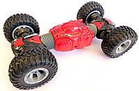Машинка-перевертиш на радіокеруванні Hyper Tunble Overlord 2488, червона, фото 1