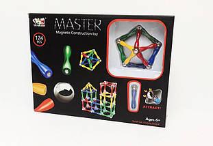 Магнитный конструкртор Master Magnetic Construction Building, фото 2
