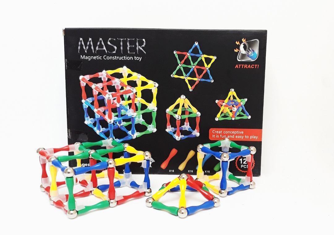Магнитный конструкртор Master Magnetic Construction Building