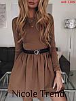 Трикотажна сукня з довгим рукавом, фото 6
