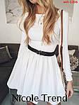 Трикотажна сукня з довгим рукавом, фото 7