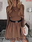 Трикотажна сукня з довгим рукавом, фото 5