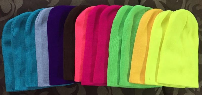 Шапка универсальная яркие цвета