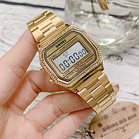 Skmei 1474 lolita золотые женские часы