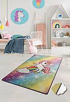 "Ковер в детскую комнату ""Unicorn"" 100x160 Chilai Home № 77-111"